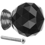 Uchwyt Gałka Kryształowa Meblowa Kryształ 30mm XL