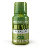 Konopny GreenOut Green Out PURE Pineapple ENERGY