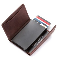 Portfel z etui na karty z ochroną RFID