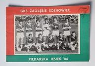 PROGRAM ZAGŁĘBIE SOSNOWIEC SEZON JESIEŃ 1984