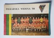 PROGRAM ZAGŁĘBIE SOSNOWIEC SEZON WIOSNA 1984