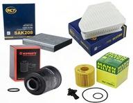 Zestaw filtrów TOYOTA AVENSIS T27 2.0 D-4D
