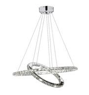 Lampa wisząca OLIVIA żyrandol LED kryształki 36W