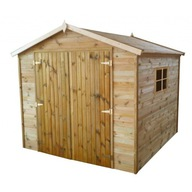 Domek narzędziowy drewniany ogrodowy 220cm x 213cm