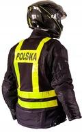 Kamizelka motocyklowa odblaskowa szelki POLSKA