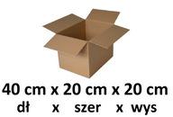 Pudełko kartonowe 40cm x 20cm x 20 cm opakowanie