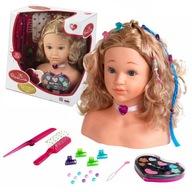 Lalka głowa do stylizacji włosów makijażu Klein