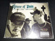 House Of Pain It Ain't A Crime/Word Is Bond CD '94