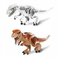 Jurassic World Tyranozaur Rex Indominus Dinozaury