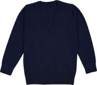 M&S Granatowy Sweter Sweterek 104-110 cm