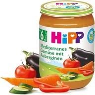 HiPP Ekologiczne Śródziemnomorskie Warzywa Wit. A