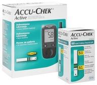 Glukometr Accu-Chek ACTIVE, mmol/l +50szt pasków
