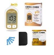 Zestaw Glukometr Cera-Chek pomiar cukru glukozy