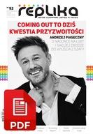 Replika nr 92 magazyn LGBT lip/sie 2021 wersja PDF