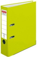 Segregator A4, 8 cm PP neon zielony Q file.