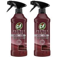 Cif Perfect Finish Spray Czyszczenia Skóry 2x435ml