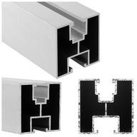 Profil montażowy PV szyna aluminiowa 40x40 2070mm