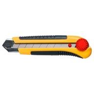 Nóż z ostrzem łamanym 25mm blokada TOPEX 17B490