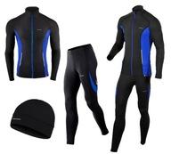 Komplet rowerowy - bluza zamek i spodnie BERENS L
