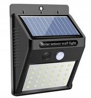 Lampa solarna LED czujnikiem ruchu i zmierzchu