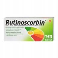 Rutinoscorbin Witamina C + Rutozyd 150 tabletek