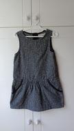 Ciepła sukienka - tunika Zara, r. 116