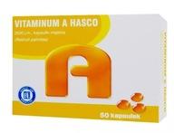 Vitaminum A Hasco 2500jm 50kaps wzrok witamina A