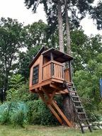 Domek na drzewie DND05 domek drewniany dla dzieci