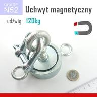 Magnes do poszukiwań uchwyt udźwig ~ 200 KG 3 UCHA