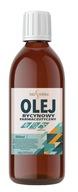 Olej rycynowy 500ml farmaceutyczny NIERAFINOWANY