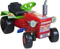 Duży traktor na pedały, Polski traktorek