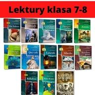 LEKTURY OBOWIĄZKOWE KLASA 7-8 PAKIET 13 LEKTUR