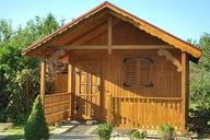 Domek letniskowy, drewniany, działkowy, ogrodowy!