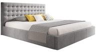 Łóżko tapicerowane VERO 160x200 pojemnik + stelaż
