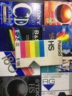 Kaseta VHS do nagrania zestaw 10 sztuk NIE czysta