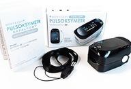 PROFESJONALNY Pulsoksymetr MEDYCZNY pulsometr CE
