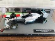 Nowy model bolid Hamilton Mercedes W05 2014 1:43