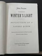 Winter's light John Preston