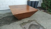 Drewniany stolik kawowy palisander. Dowóz