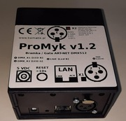 KWMATIK PROMYK 1.2 BRAMKA ARTNET DMX512