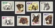 Znaczki polskie - 1969 - Rasy psów - niekasowane