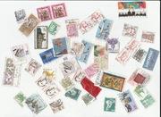 znaczki niemieckie kasowane