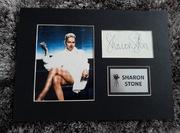 """Sharon Stone """"Nagi Instynkt"""" oryginalny autograf!"""