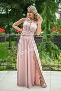 Sukienka 44 beżowa nude 38 długa 40 maxi 42 nowa
