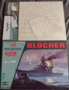 Model kartonowy GPM Blucher szkielet laserowy