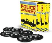 POLICE ACADEMY 7x BLU RAY BOX Akademia policyjna