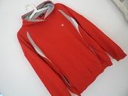 Świetna bluza Champion czerwono-szara  M/L