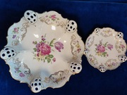 2 Patery Rosenthal Moliere Rosemary 24,5 i 15,5cm