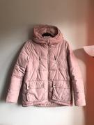 HIT! Różowa pudrowa kurtka puchowa Sinsay M 38