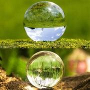 Kula Szklana Wielka Kryształ Zdjęcia Refrakcja 15